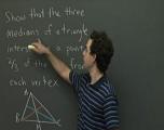 (坐标系无关性)三角形的中心