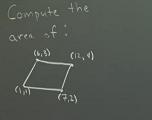 平行四边形的面积