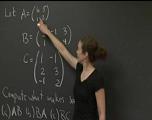 利用矩阵解方程组